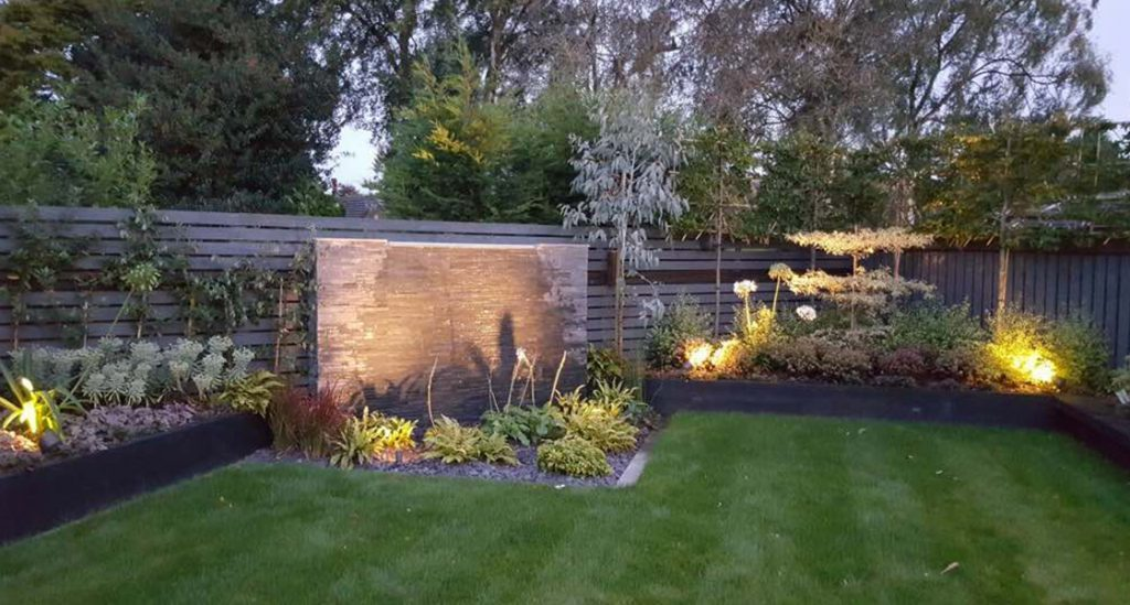 Garden lighting installation Dublin